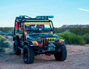 Rent the Jeep Outback Extreme and explore the beauty of the Mohave outback.